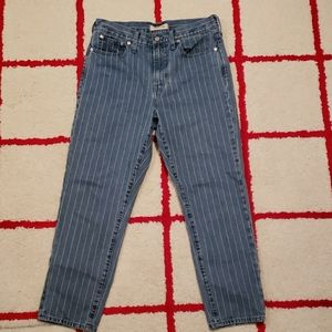 Madewell the perfect vintage crop Jean size 29